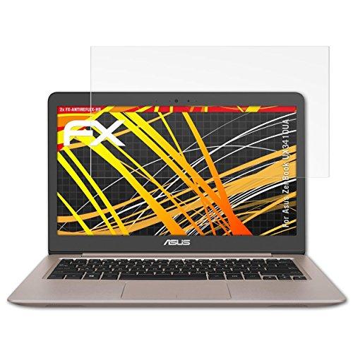 atFolix Schutzfolie kompatibel mit Asus ZenBook UX3410UA Displayschutzfolie, HD-Entspiegelung FX Folie (2X)