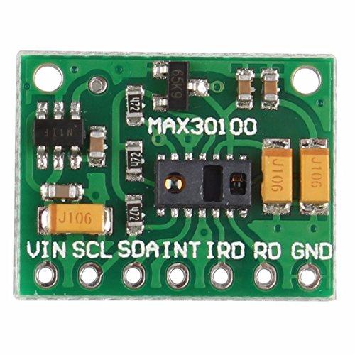 MAX30100 Pulsoximeter Herzfrequenz Sensor Modul für tragbare Gesundheit Fitness Assistant Geräte medizinische Überwachungsgeräte