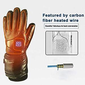 Massage-AED Elektrisch beheizte Handschuhe Ski beheizte Handschuhe Outdoor Motorrad Fahrrad Elektrisch beheizte Handschuhe Winter Snowboard Handschuhe 6.5 Warm Hour