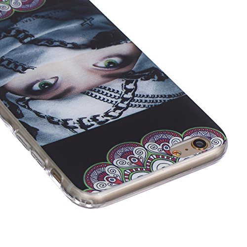"""MOONCASE iPhone 6S Coque, [Patterns Series] Case Slim Fit Flexible TPU Housse Etui pour Apple iPhone 6 / 6S (4.7"""") -#BF25 BF21"""