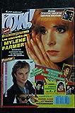 OK ! âge tendre 628 JANVIER 1988 COVER MYLENE FARMER SON ADOLESCENCE POSTER DAVID HALLYDAY MURIEL DACQ PIERRE BACHELET