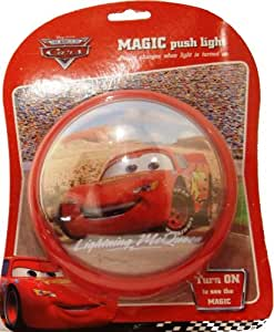 Disney Disney Pixar Cars Magic Push Light - LIGHTNING MCQUEEN The World of Cars