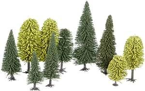 Noch 26411 - Mischwald, 10 Bäume, 65-150 mm