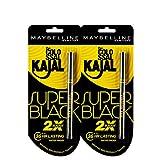 #4: Maybelline New York Colossal Kajal, Super Black (Pack of 2 at 20% Off)