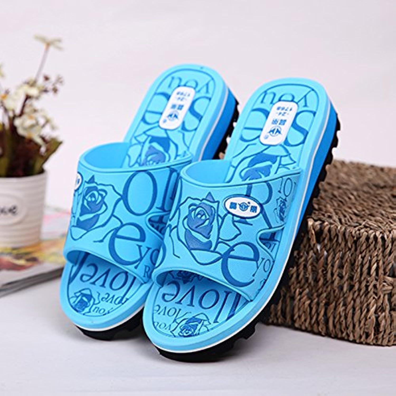 CWJDTXD Zapatillas de verano 1768 pantuflas zapatillas de verano mujer luz casa baño zapatillas de playa casuales...