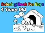 Coloring Book For Boys 4 Years Old: Easy - Best Reviews Guide