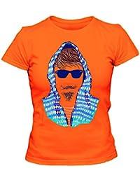 Hipster 2 Cooles Party Damen T-Shirt