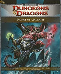 Prince of Undeath: Adventure E3 for 4th Edition Dungeons & Dragons (4th Edition D&D) by Bruce R. Cordell (2009-10-20)