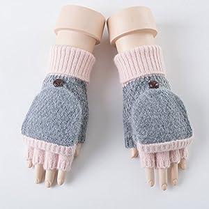 Unbekannt XIAOYAN Handschuhe Frauen-Winter-Handschuh-weibliche Winter-Kursteilnehmer-Reizende warme Dame Bequem