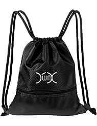 YXwin Cordón Mochila Bolsa Sackpack Impermeable Deporte Gimnasio Saco Bolsas de cuerdas Gymsack Backpack para Hombre y Mujer