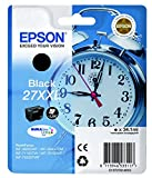 Epson Alarm Clock No.27 XXL Ultra Ink Cartridge, Black, Genuine