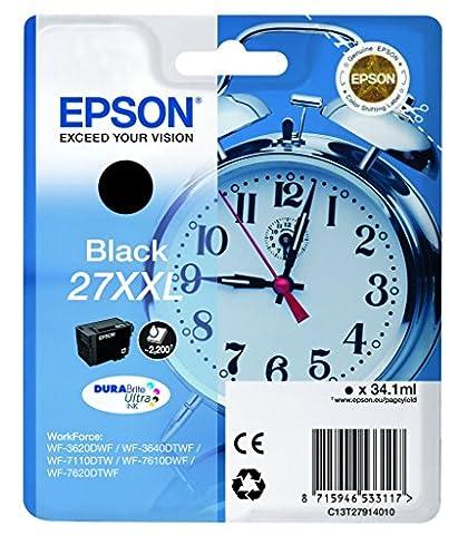 Epson Cartouche - EPSON Cartouche jet d'encre noir XXL