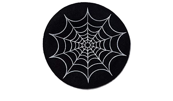 kreepsville 666 Spider Web Beatnik Beret Black Hat