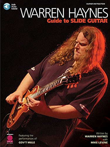Warren haynes guide to slide guitar guitare+CD