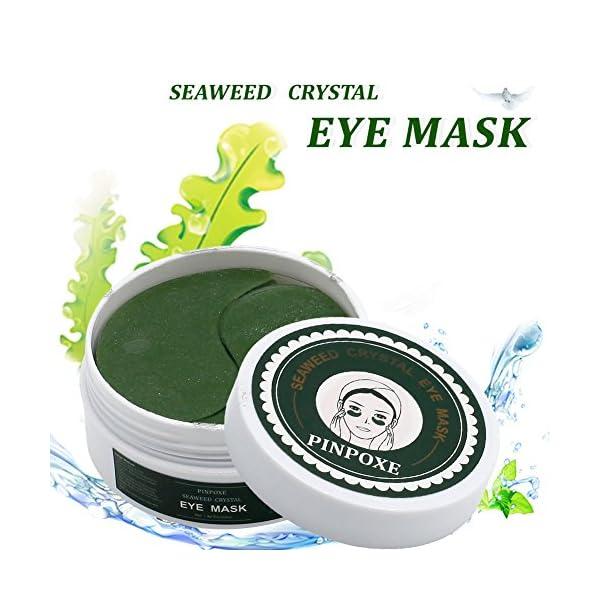 Máscara para los ojos, Parches para los ojos, Ojos Parches, Contorno de Ojos Antiarrugas, Anti edad para ojeras,bolsas…