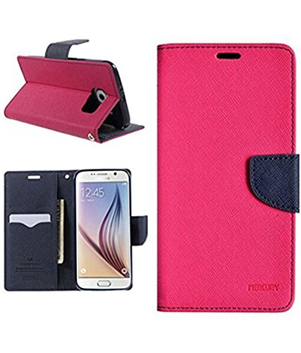 ONLINE INDIA MERCURY FLIP COVER FOR SAMSUNG GALAXY GRAND PRIME G530 / G531 - PINK  available at amazon for Rs.199