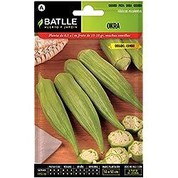 Batlle Gemüsesamen - Okra Samen (Samen)