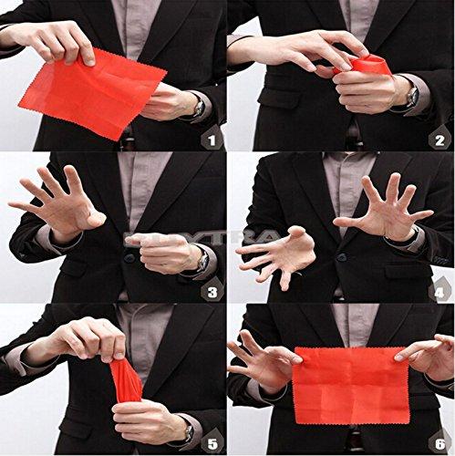 DDU (TM) 2 Stück Magie Daumenspitze Trick Gummi Nahaufnahme Verschwinden Erscheinen Finger Trick - Magie Mitarbeiter