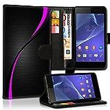 Wallet Book Style Flip Handy Tasche Case Schutz Hülle Schale Motiv Etui für HTC One A9 - Design Flip MVD286