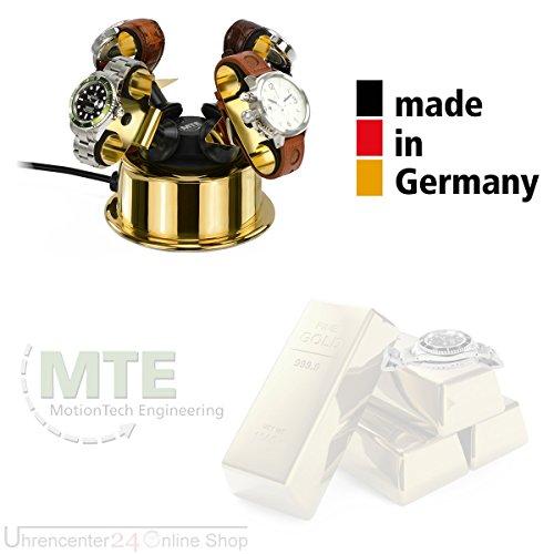 MTE Uhrenbeweger WTS 4 GOLD-EDITION für 4 Uhen - 2