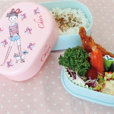 Shinzi Katoh Lunch Bento Box: 2 Stufen kompakte Box Cheri World Design