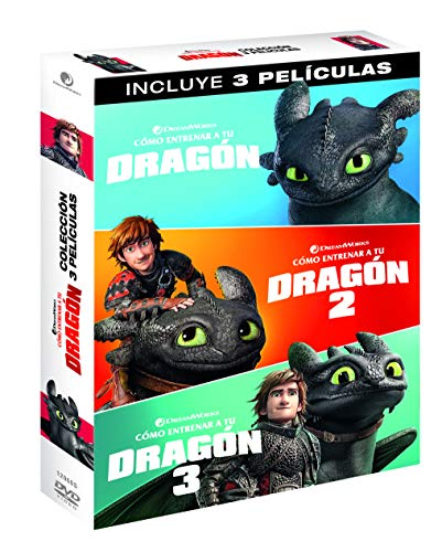 Pack 1 + 3: Cómo Entrenar A Tu Dragón [DVD]