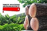 Yool Kreative Baumstumpf Holz Kissen Familie Bar Dekorative Auto Persönlichkeit Halten Kissen Kissen,D