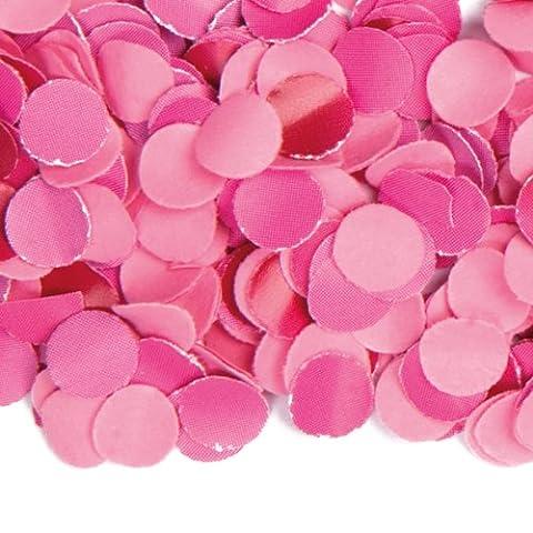 Luxus Konfetti * ROSA-PINK * aus Papier // 100gr. // Confetti Party Feier Hochzeit Kindergeburtstag Geburtstag Pinata Füllung Deko Rosa Pink Rose (Grundpreis: 1,99 (Party-feier Pinata)