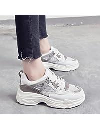 NGRDX&G Zapatos De Malla Mesh Sneakers Net Shoes Breathable Shoe, Gris, 40
