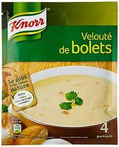 Knorr Soupe Velouté De Bolets 66g Pour 4 Personnes