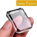 Coque Apple Watch 42mm, TPU Souple Protection Ultime contre les Chocs et les Chutes pour Apple Watch 42mm 2015 Modèles