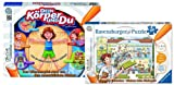 Ravensburger 00560 - Tiptoi - Dein Körper und du UND 00523 Tiptoi - Kinderarzt Puzzle - SET - 9120055082514
