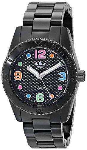 adidas ADH2943 - Reloj de Pulsera Unisex, Nailon, Color Negro
