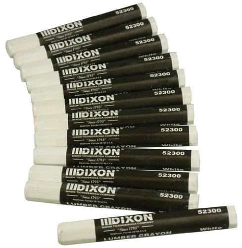 Lumber Pack (Dixon Ticonderoga Wei- Lumber Crayon 52300 - 12er Pack)