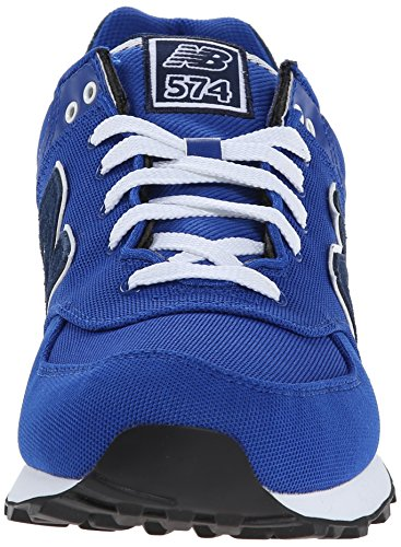 New Balance Unisex-Erwachsene 574 Pique Polo Pack Sneakers Azul Tinta