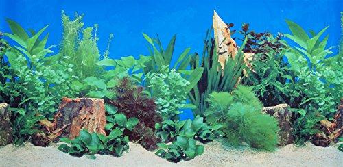 Vinyl-aquarium (Pistachio Pet doppelseitig Hintergrund Aquarium Poster, 45x 100cm)