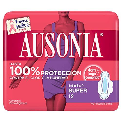Ausonia Super Compresas Alas - 12unidades