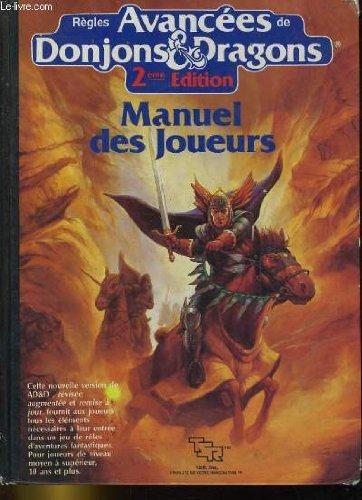 regles-avancees-de-donjons-dragons-2eme-edition-manuel-des-joueurs