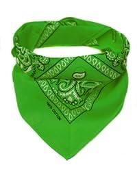 Bandana Kopftuch Halstuch - gemustert: Paisley Muster - 24 Farben - 100% Baumwolle!