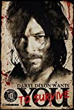 The Walking Dead Poster Daryl Dixon Needs You (61cm x 91,5cm)