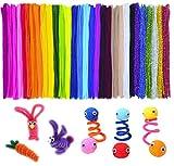 LVHERO Pfeifenreiniger, 600 Stück 30 Farben Pfeifenputzer Bunt Pipe Cleaner...