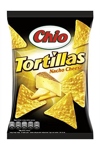 Chio Tortilla Chips Nacho Cheese, 125 g