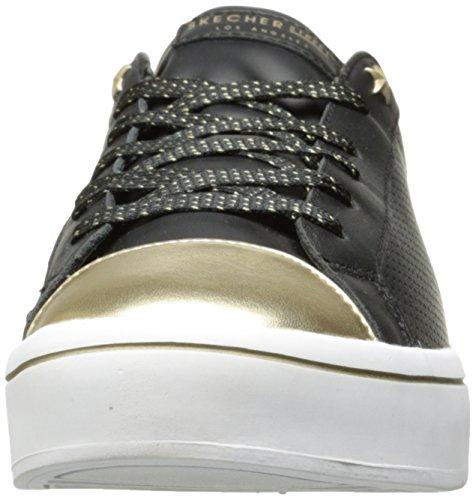 Skechers Hi-Lite, Allenatori Donna Nero (Black/gold)