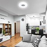 LED Oval Deckenlampe Deckenleuchte 18W 1350lm