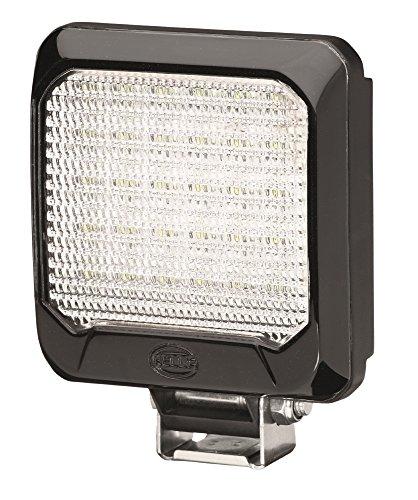 HELLA 1GA 995 193-011 Arbeitsscheinwerfer Flat Beam 500 für Nahfeldausleuchtung, Anbau, LED, 12V/24V