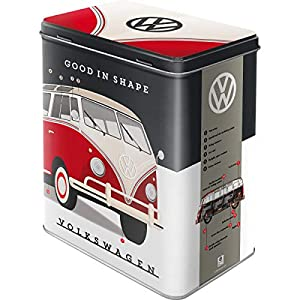 Nostalgic-Art 30148 Volkswagen - VW - Good in Shape  | Vorratsdose L | Aufbewahrungs-Box | Kaffee-Dose | Blech-Dose | Metall