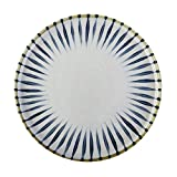 Tianboy_plate Teller Steingut Frühstücksteller Dish Kitchen Craft Keramikplatte Geeignet für Hotel Restaurant Salat und Dessertteller