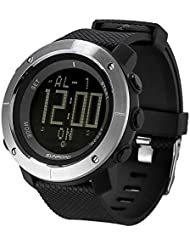 Sunroad FR1001 Outdoor Watch Barometer Altimeter Thermometer Compass 3ATM