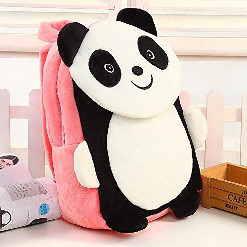 Prix Comfysail Panda Mignon Bébé Garçon Fille Peluche Cartable Sac à Dos Enfant Maternelle Loisir Poche