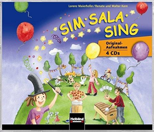 Preisvergleich Produktbild Sim Sala Sing. 4 AudioCDs: Originalaufnahmen 4 CDs. CDs zum gleichnamigen Liederbuch mit Originalaufnahmen zu 127 ausgewählten Titeln.